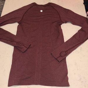 Lululemon swiftly long sleeves top